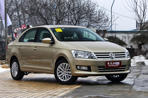 VW Jetta China September 2013. Picture courtesy of auto.ifeng.com