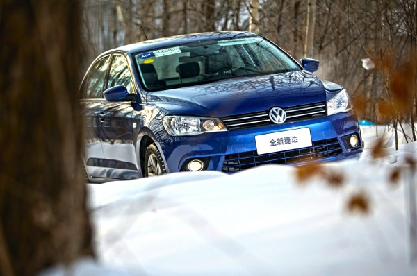 VW Jetta China April 2015. Picture courtesy of biauto.com
