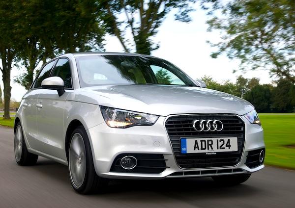 Audi A1 UK October 2013