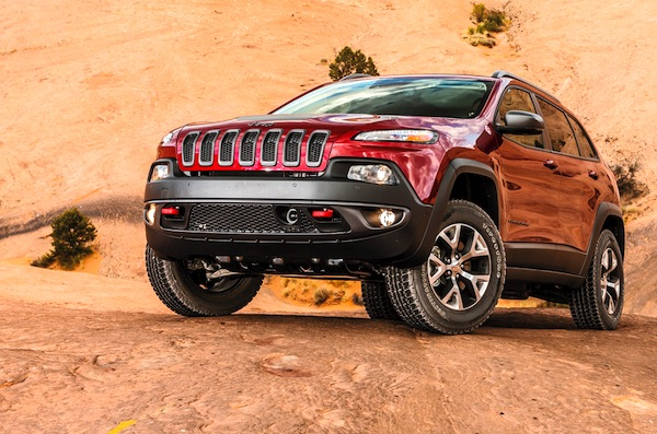 Jeep Cherokee USA October 2013. Picture courtesy of motortrend.com
