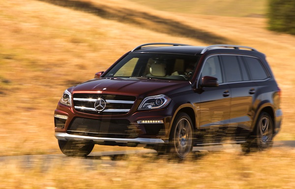 Mercedes GL Class USA October 2013. Picture courtesy of motortrend.com