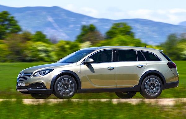 Opel Insignia Ireland October 2013