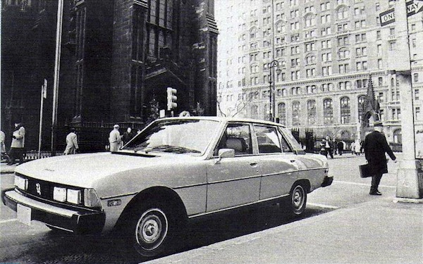 Peugeot 604 USA. Picture courtesy of forum-auto.com