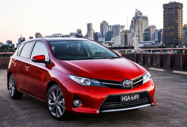 Toyota Corolla Australia October 2013