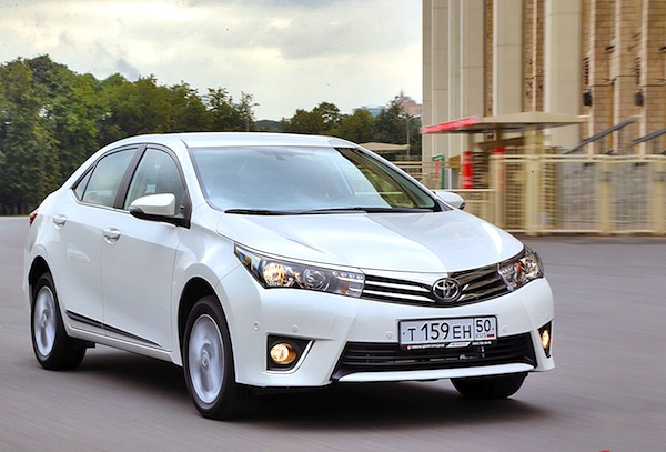 Toyota Corolla Russia October 2013b. Picture courtesy of zr.ru