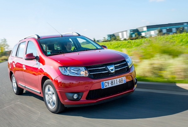 Dacia Logan MCV Europe July 2014