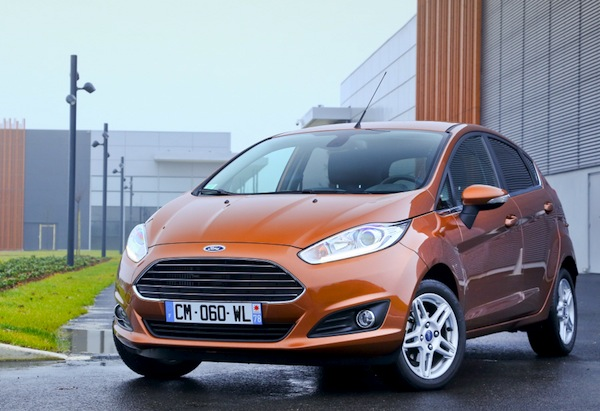 Ford Fiesta Poland November 2013. Picture courtesy of largus.fr