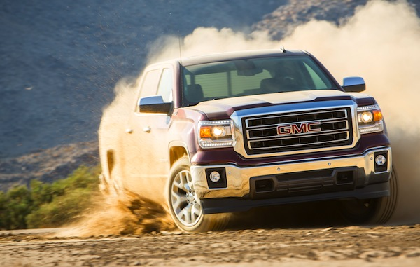 GMC Sierra USA July 2014. Picture courtesy of motortrend.com