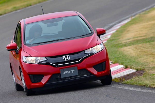 Honda Fit Japan November 2013. Picture courtesy of autoc-one.jp