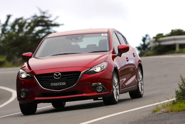Mazda Axela Japan November 2013. Picture courtesy of autoc-one.jp