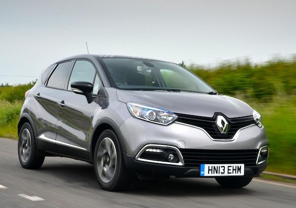 Renault Captur UK June 2014