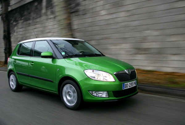 Skoda Fabia Algeria July 2014. Picture courtesy of largus.fr