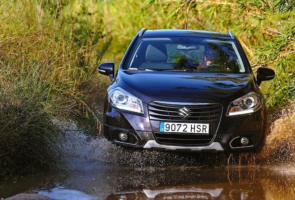 Suzuki SX4 Norway January 2014