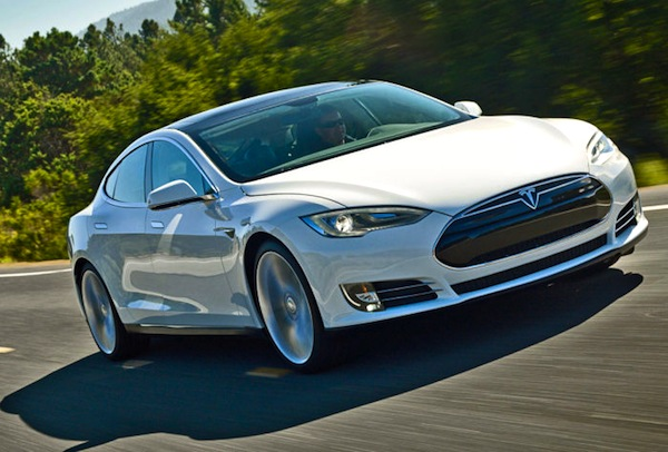 Tesla Model S Netherlands November 2013. Picture courtesy of autobild.de