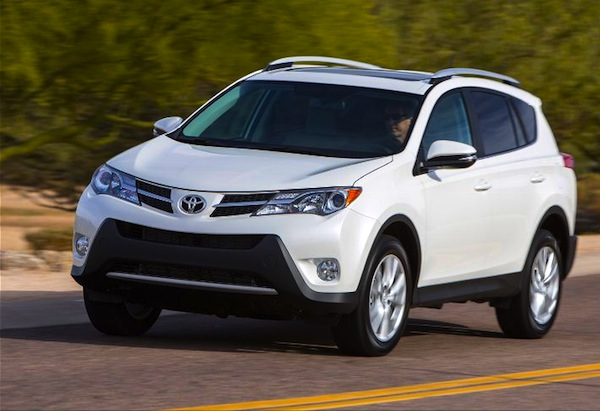 Toyota RAV4 USA November 2013. Picture courtesy of motortrend.com