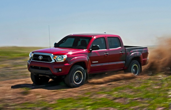 Toyota Tacoma USA August 2013. Picture courtesy of mototrend.com