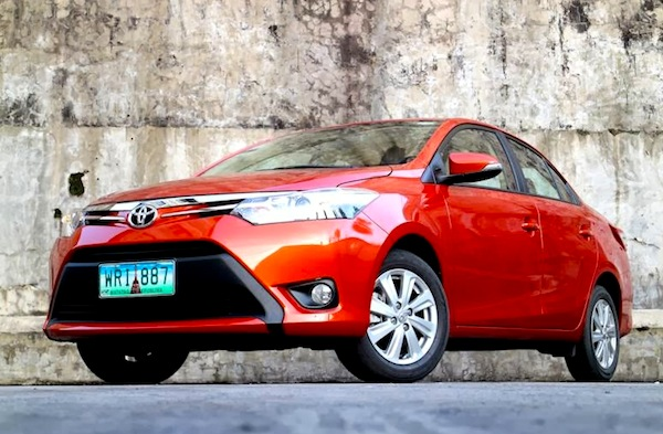 Toyota Vios Philippines May 2015. Picture courtesy of carguide.ph