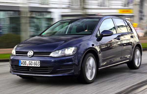VW Golf Spain April 2016. Picture courtesy of autobild.de