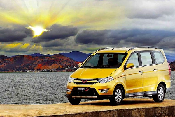 Wuling Hongguang China August 2014. Picture courtesy of bitauto.com