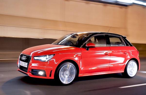 Audi A1 UK 2013
