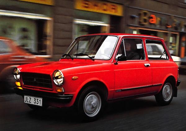 Autobianchi A112 Italy 1974