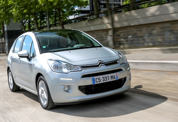 Citroen C3 France December 2013. Picture courtesy of largus.fr