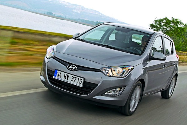 Hyundai i20 Austria 2013. Picture courtesy of autobild.de