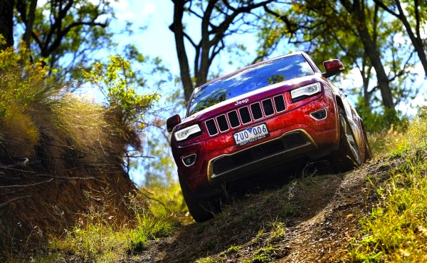 Jeep Grand Cherokee Australia December 2013. Picture courtesy of caradvice.com.au