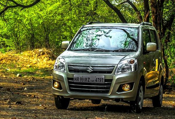 Suzuki Wagon R India June 2014. Picture courtesy of gaadi.com