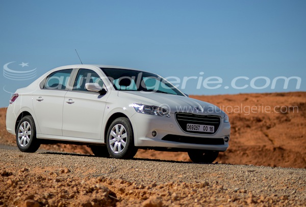 Peugeot 301 Algeria 2013. Picture courtesy of autoalgerie.com