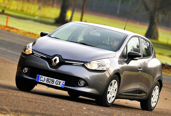 Renault Clio IV. Picture courtesy of hamms.ru