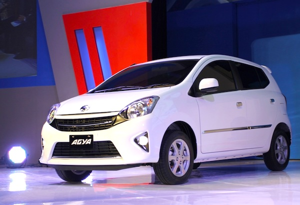 Toyota Agya Indonesia December 2013. Picture courtesy of topcarsinfo.com