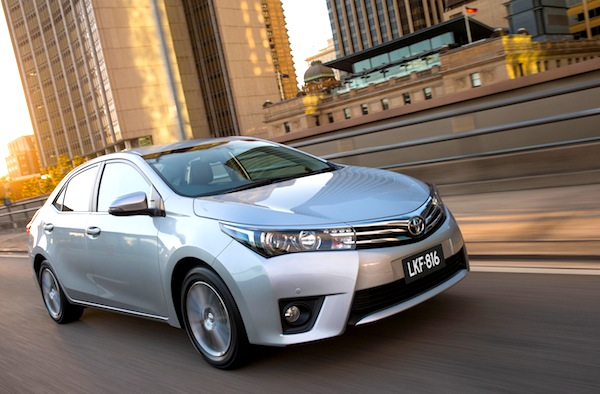Toyota Corolla Bulgaria September 2015