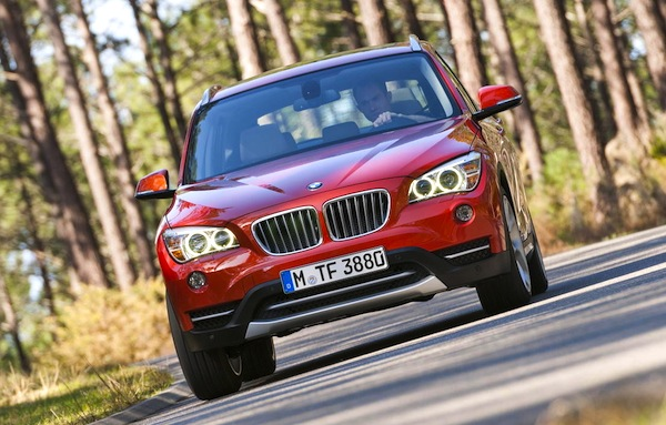 BMW X1 Germany September 2014. Picture courtesy of largus.fr