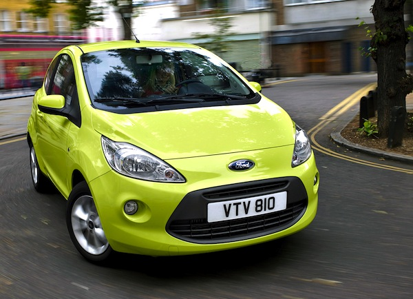 Ford Ka Scotland January 2014
