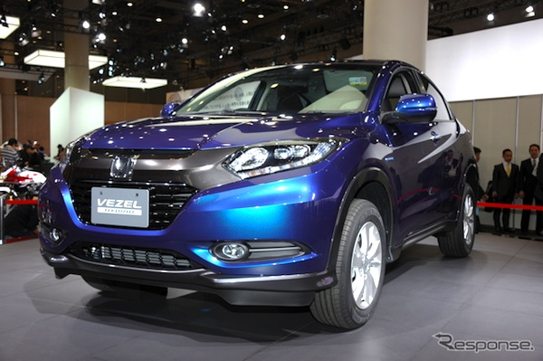 Honda Vezel Japan January 2014. Picture courtesy of response.jp
