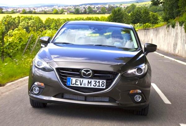 Mazda3 Croatia September 2014. Picture courtesy of autobild.de