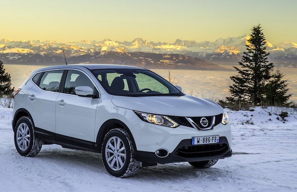 Nissan Qashqai Bulgaria January 2014. Picturce courtesy of largus.fr