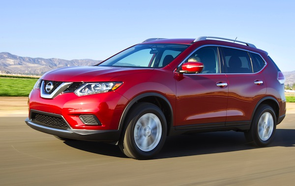 usa january 2014: toyota rav4 and nissan rogue up – best selling