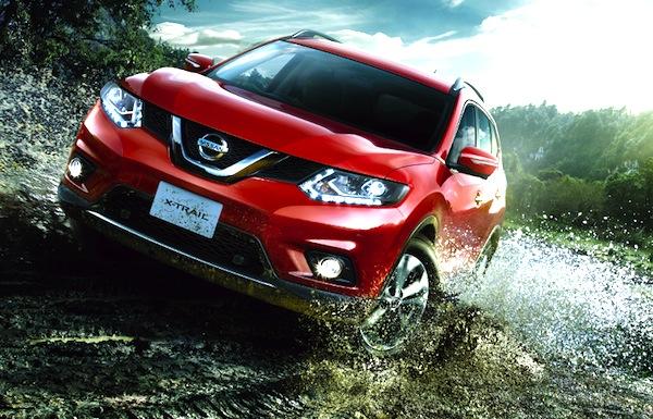 Nissan X-Trail Japan January 2014