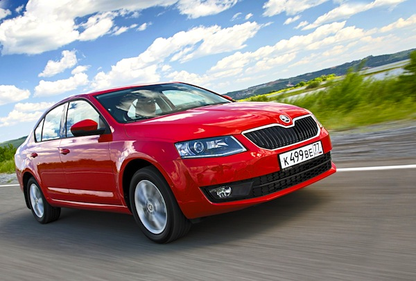 Skoda Octavia Estonia April 2014. Picture courtesy of zr.ru