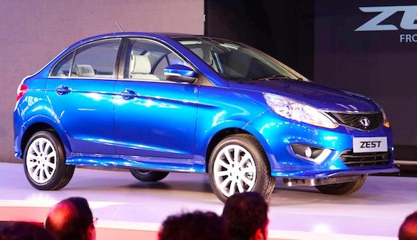 Tata Zest India January 2014. Picture courtesy of themotorreport.com.au
