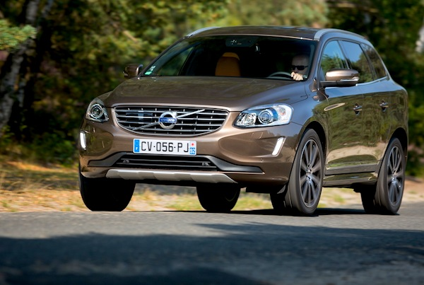 Volvo XC60 Sweden January 2014. Picture courtesy of largus.fr