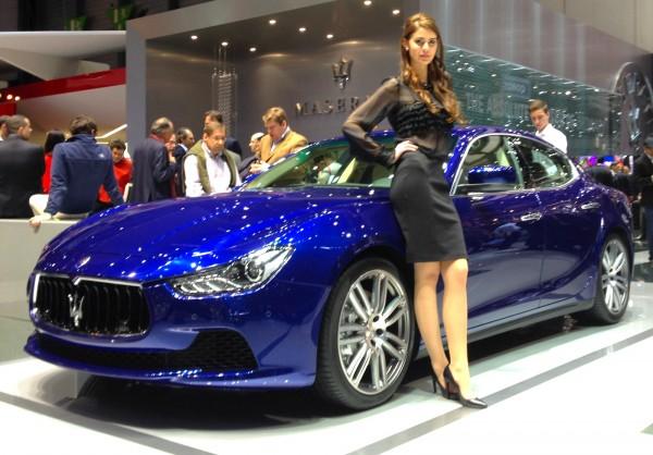 Maserati Ghibli Geneva 2014