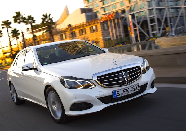 Mercedes E Class Hong Kong February 2014. Picture courtesy of largus.fr