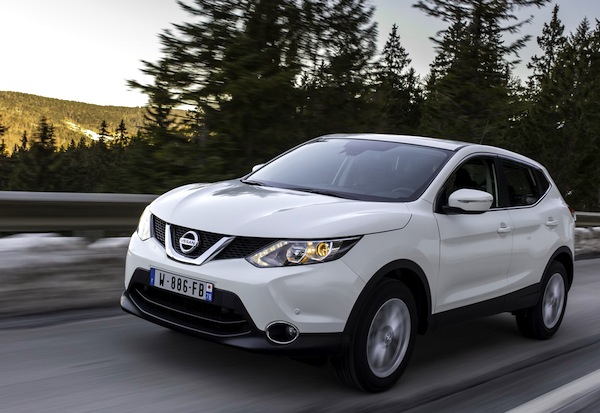 Nissan Qashqai France March 2014. Picture courtesy of largus.fr