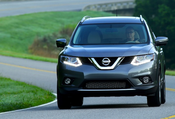 Nissan Rogue USA February 2014. Picture courtesy of motortrend.com