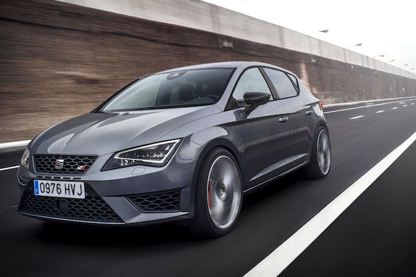Seat Leon Germany October 2014. Picture courtesy of largus.fr