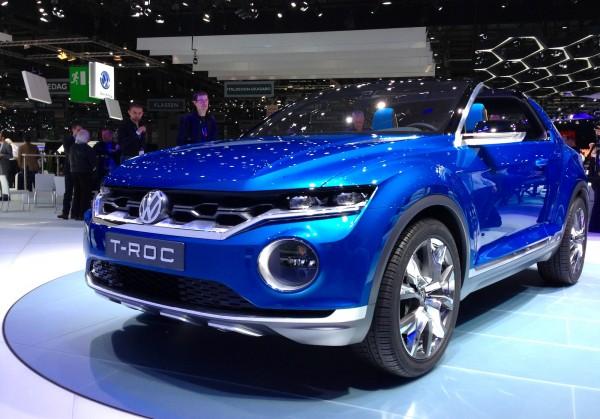 Volkswagen T Roc Geneva 2014