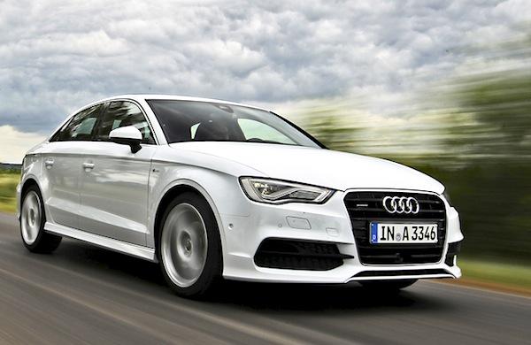Audi A3 UK April 2014. Picture courtesy of automobile-magazine.fr